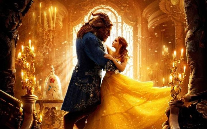 Beauty and the Beast live action film starring Emma Watson and Dan Stevens.