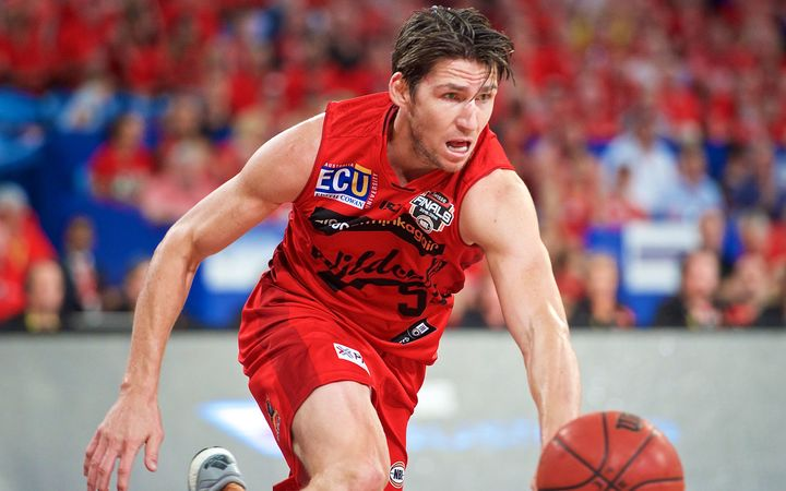Damian Martin of the Perth Wildcats.