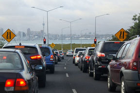 March Madness is in full-swing in Auckland, with higher than normal congestion on main roads and motorways.