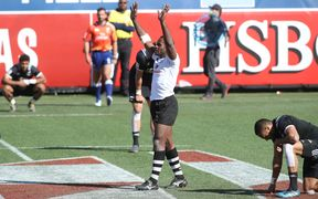 Fiji beat New Zealand at Las Vegas Sevens 2017.