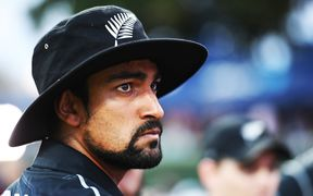 New Zealand cricketer Ish Sodhi.