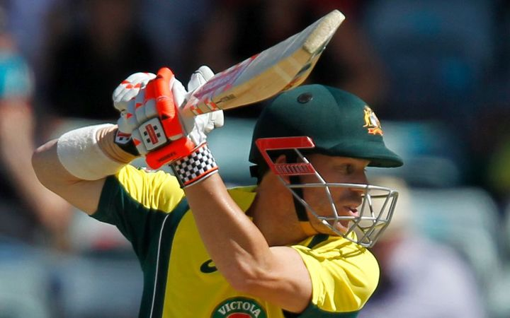 Australian batsman David Warner's massive bat is unlikely to meet the new regulations.