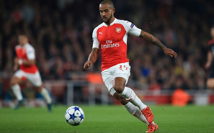 Theo Walcott scored the Gunners only goal.