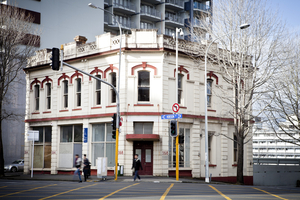 The Wong Doo building on Hobson St.