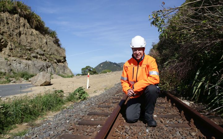 Kiwirail Project Director for Recovery Walter Rushbrook.
