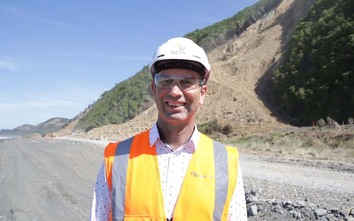 NZTA earthquake recovery manager Steve Mutton.