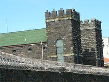 The old Mt Eden prison.