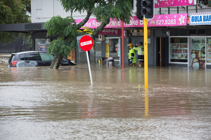 West Auckland floods, New Lynn