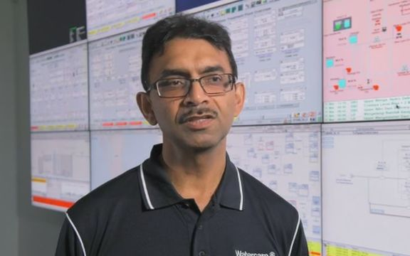 Watercare chief executive Raveen Jaduram