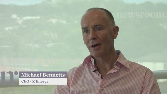 The CEO of Z Energy quizzed in a long Newsroom video interview - the first in a weekly series.