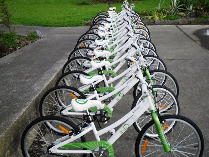 The stolen bicycles looked similar to these.