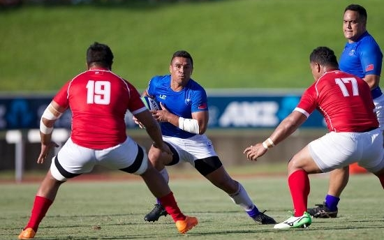 Samoa A slipped to a 30-22 loss to Tonga A.
