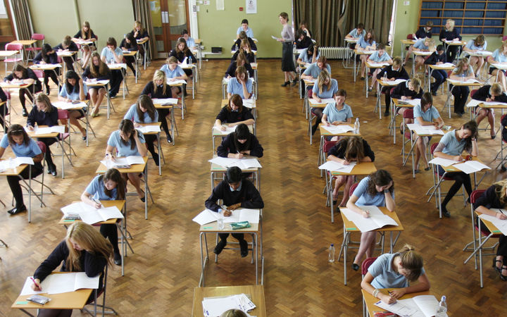About 12,000 students sat the exam.