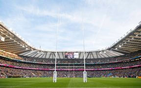 The All Blacks are due to play at Twickenham in November against the Barbarians - or could it be England?