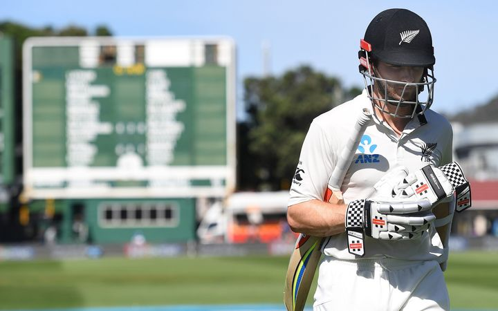 The Black Caps are struggling against South Africa at the Basin Reserve with skipper Kane Williamson among the early dismissals.
