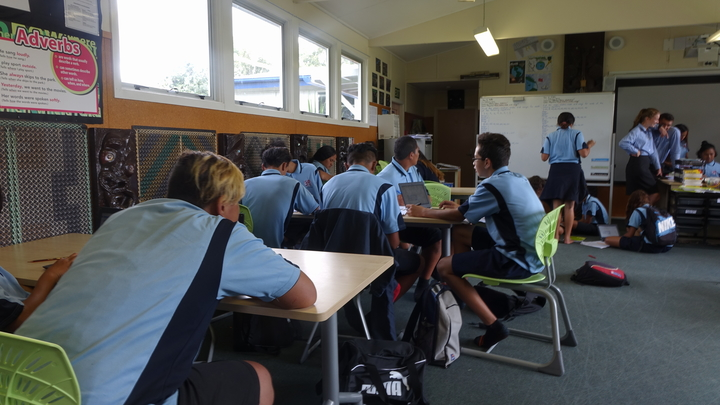 One of several low-decile schools where enrolments by Pākehā students have plummeted.