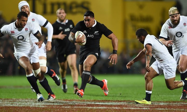 All Blacks versus England in 2014