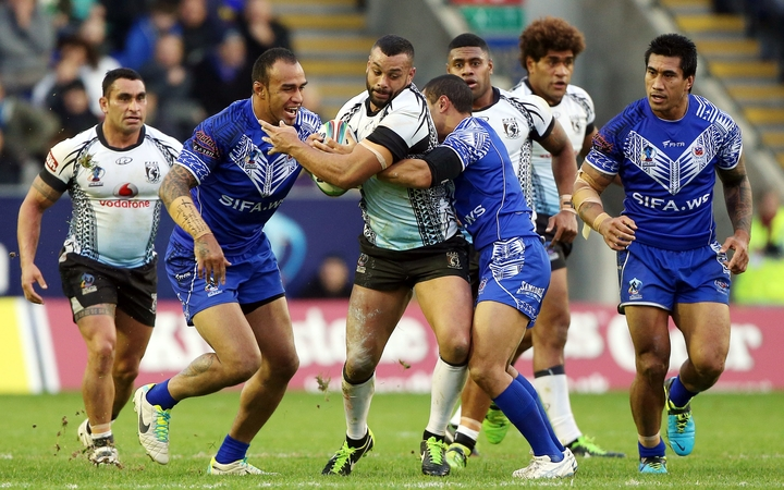 Fiji and Samoa will face Tonga and England in the Pacific Test weekend in May.