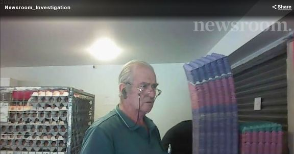 """Long-time staff member Tom"" caught on hidden camera during the Newsroom investigation"