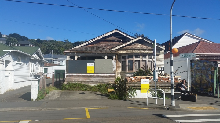 Run-down Wellington house selling for more than half a million dollars