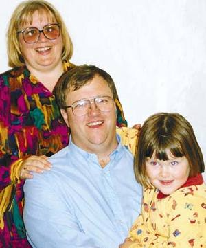 Christine, Mark and Amber Lundy.