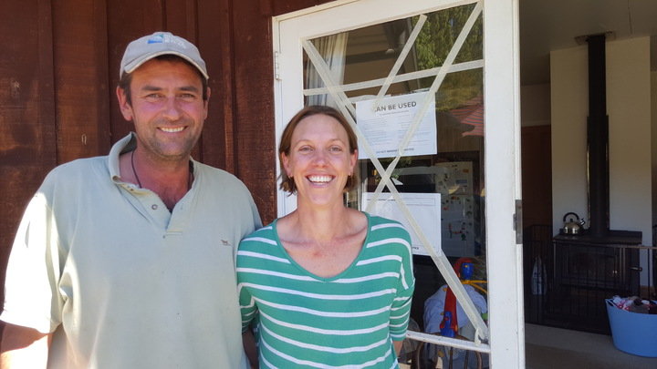 North Canterbury farmers Hamish and Pip Pavey