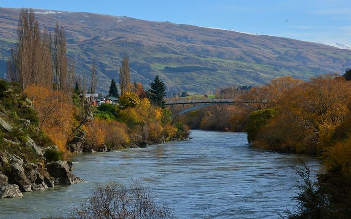 Roxburgh Bridge, Clutha River, Central Otago