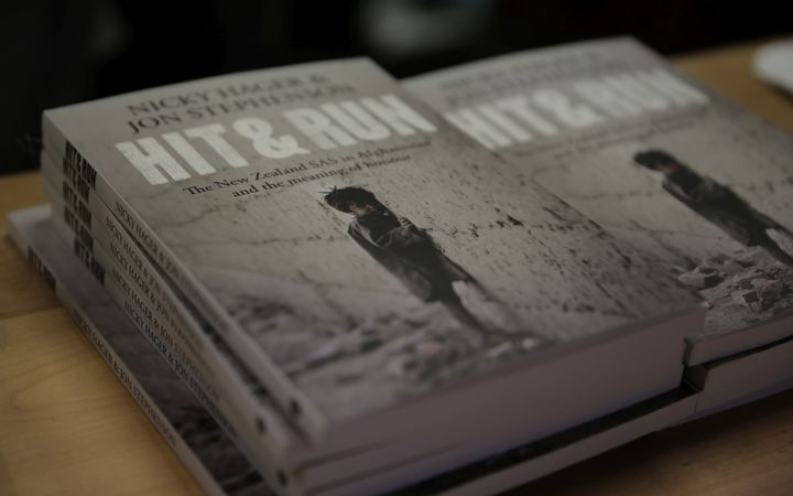 Investigative journalists Nicky Hager and Jon Stephenson have released a book, 'Hit & Run', about the New Zealand SAS in Afghanistan.