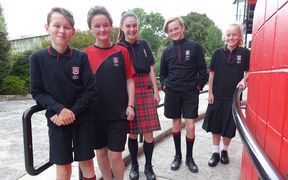 Dunedin North Intermediate students now have a choice of five options: a kilt, culottes, trousers, shorts, or even a PE uniform.