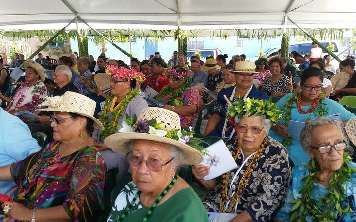 Full house for Sir Toke's investiture in Niue