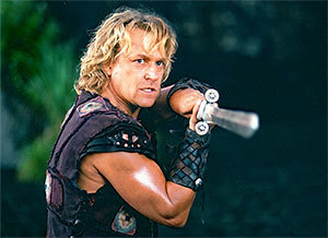 Actor Michael Hurst as Iolaus in Hercules: The Legendary Journeys.
