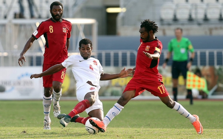 Papua New Guinea and Tahiti will face off against at Sir John Guise Stadium.