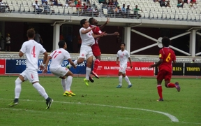 Tahiti came from behind to beat Papua New Guinea 3-1 in Port Moresby.