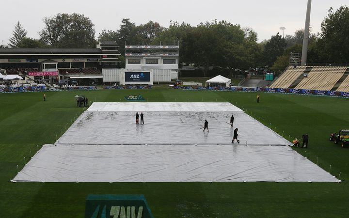 The covers on Seddon Park.