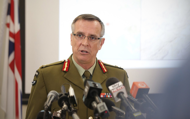 Lieutenant General Tim Keating