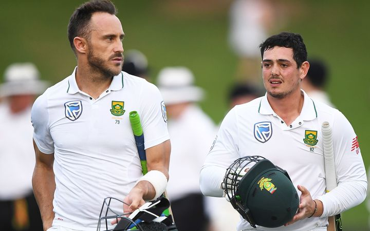 A lot rests on the shoulders of Proteas skipper Faf du Plessis and Quinton de Kock.