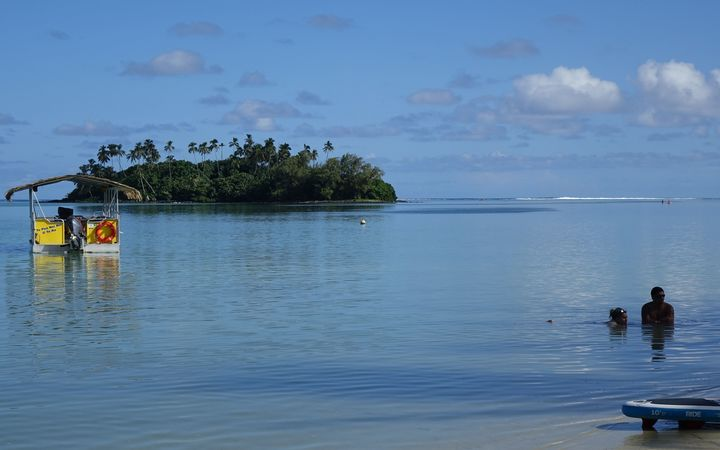 Muri Lagoon, off Rarotonga, is one of the Cook Islands' tourism hotspots