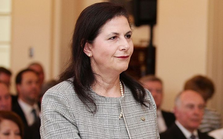 Australia's Minister for International Development, Concetta Fierravanti-Wells