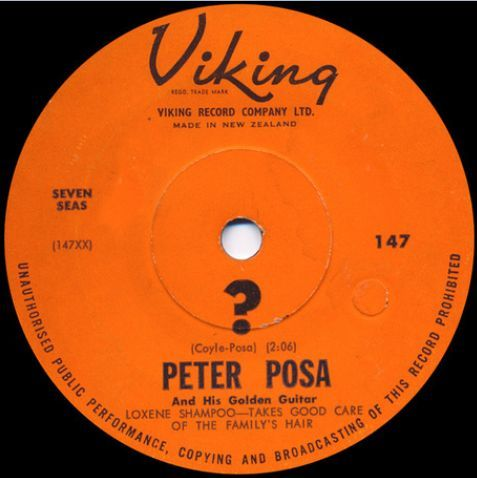 Viking Records album label - Peter Posa