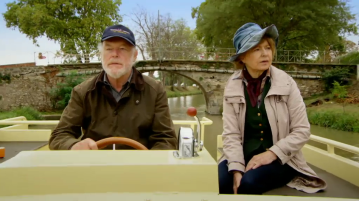 Timothy West & Prunella Scales in Great Canal Journeys