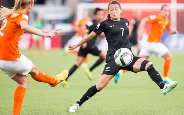 Ali Riley has been appointed the new captain of the Football Ferns.