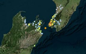 More than 6000 people felt the quake south-west of Wellington.