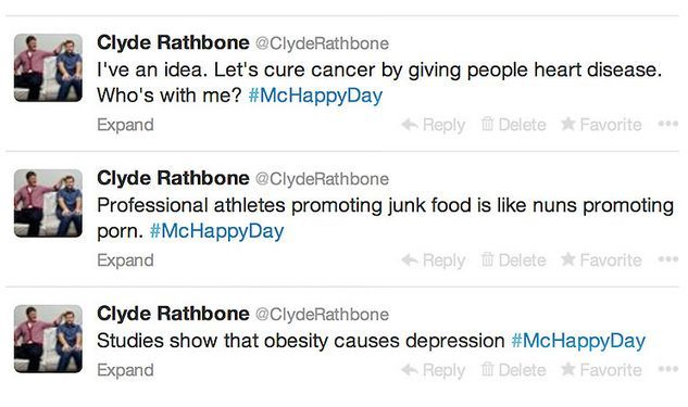 Clyde Rathbone got himself into trouble over these tweets in 2013.