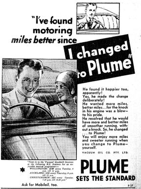 Advertisement from The Press newspaper 1932