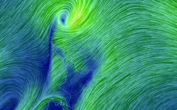 New Zealand: Cyclone Cook makes landfall