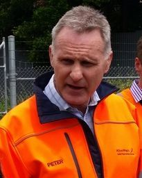 KiwiRail chief executive, Peter Reidy. Photo / RNZ