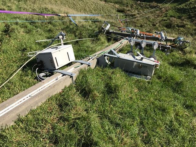Horizon Networks said Cyclone Cook caused significant damage to power infrastructure in the Whakatāne and Opotiki districts.