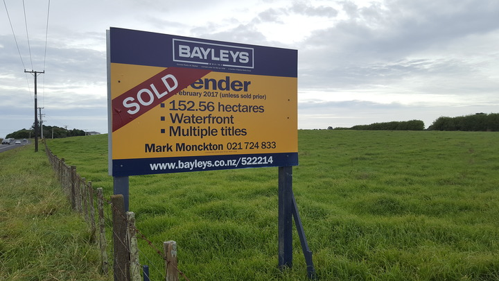 Len Jury's farm was snapped up by a property developer soon after going on the market.