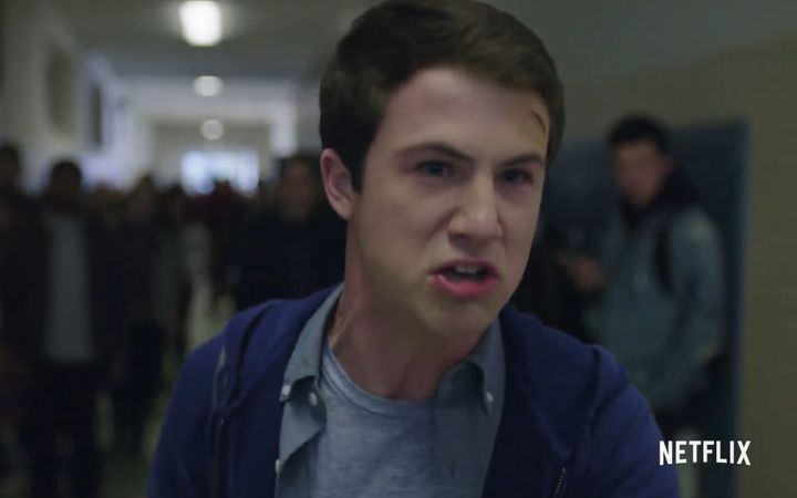 One of the protagonists from the show 13 Reasons Why, Clay, who receives Hannah's tapes.