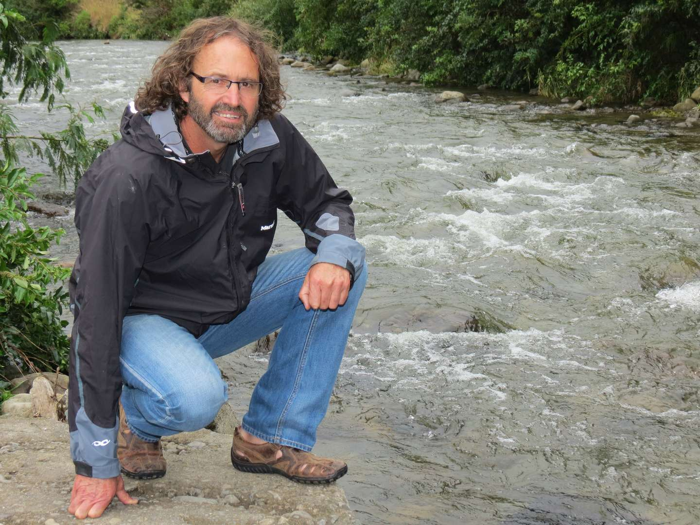 Fresh water ecologist Mike Joy